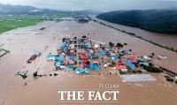 [TF사진관] 전국 집중호우, 이재민 2500명 시설피해 6162건