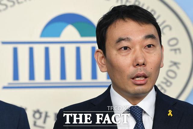 김용민 더불어민주당 의원이 9일 문찬석 광주지검장을 맹비난하며 검찰 개혁 완수를 다짐했다. /남용희 기자
