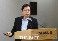[TF포토] 신규 주택 브랜드 발표하는 김세용 SH공사 사장