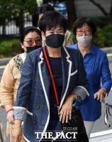 [TF포토] '목포 부동산 투기 의혹' 법원 출석하는 손혜원