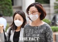 [TF사진관] 묵묵히 법정으로 향하는 정경심 교수