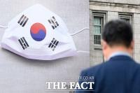 [TF포토] 광복절 앞두고 교체된 꿈새김판