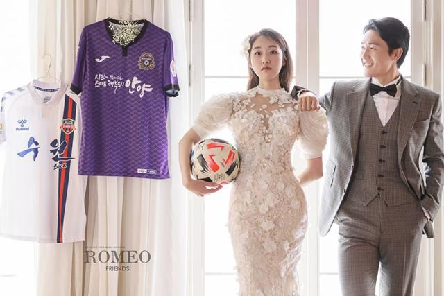 코미디어 겸 배우 박보미가 FC 안양 축구선수 박요한과 오는 12월 6일에 결혼식을 올린다고 밝혔다. /해피메이드컴퍼니 제공