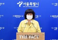 [TF사진관] '수도권 코로나19 비상'...대책 브리핑 하는 서울시