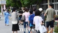 [TF사진관] 코로나19 재확산 속에서 치러진 '초·중·고졸 학력인정 검정고시'
