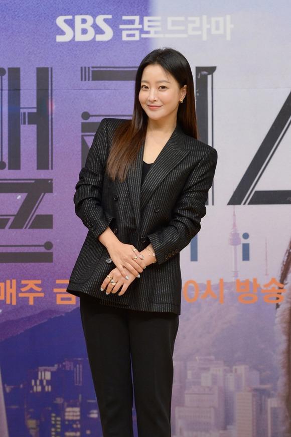 김희선은 지금까지의 드라마와는 색다른 재미를 느낄 수 있을 것이라며 자신감을 내비쳤다. /SBS 제공