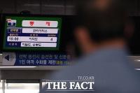 [TF사진관] 최대풍속 초속 45m...'태풍 바비 북상으로 발 묶인 바닷길'