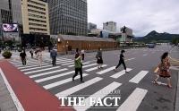 [TF포토기획] 거리두기 2.5단계… '서울, 일상이 멈췄다'