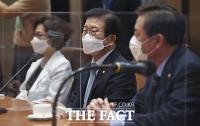 [TF사진관] 개원식 앞서 차담회 갖는 박병석 국회의장