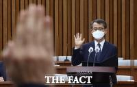 [TF사진관] 인사청문회에서 선서하는 이흥구 대법관 후보자