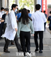 [TF사진관] '파업 종료'…현장 복귀한 전공의들