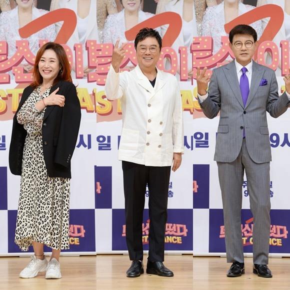 주현미와 진성은 트로트의 정통성에 초점을 맞춰 후배를 가르친다. 설운도(왼쪽부터)는 혹독한 트레이닝으로 긴장감을 자아낼 전망이다. /SBS 제공