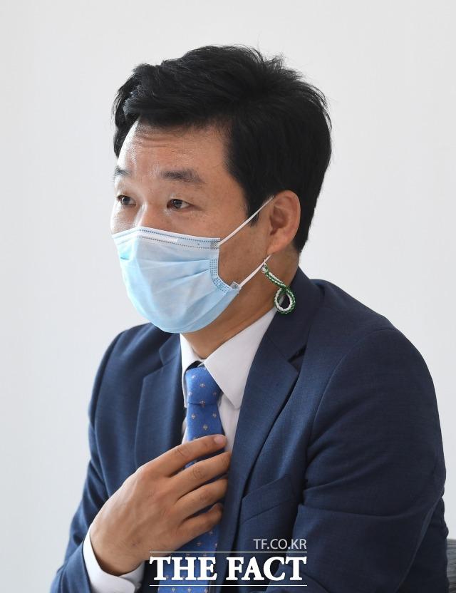 김 전 의원의 디지털 혁신 자문관에는 박병석 국회의장의 국회 디지털화 추진에 대한 적극적인 관심과 김 전 의원의 의지가 있었다. /이새롬 기자