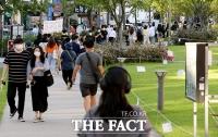[TF포토] '거리두기 무색한 연트럴파크'