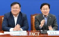 민주당, '통신비 지원' 여론 악화에 우왕좌왕…박범계