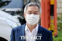 [TF사진관] 최강욱 대표, '밝은 미소 지으며 공판 출석'