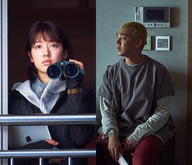 #살아있다는 박신혜(왼쪽) 유아인이 주연을 맡았다. 6월 24일 개봉해 190만 명을 동원하는 데 그쳤다. /롯데엔터테인먼트 제공
