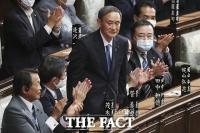 [TF사진관] '아베 내각 시즌 2'…일본 새 총리로 스가 선출