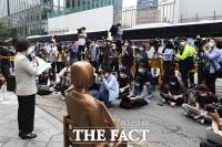 [TF포토] 신임 일본 총리에게 공식 사죄 촉구하는 정의연