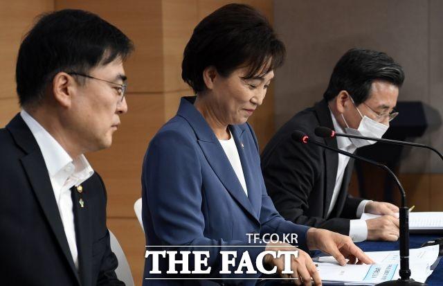김현미 장관, 30대 영끌 주택매입, 안타깝다