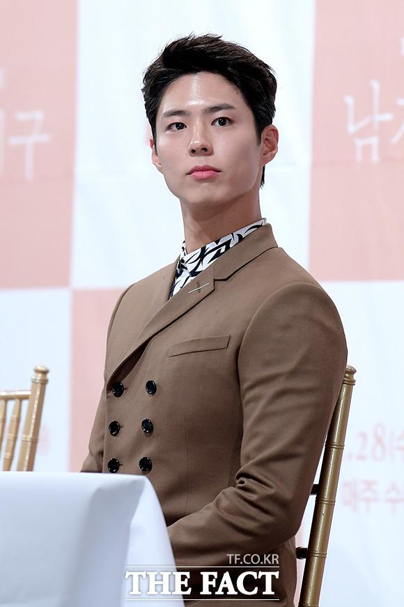 박보검은 입대 전 마지막 드라마 tvN 청춘기록으로 인기 정상을 달리고 있다. /더팩트 DB