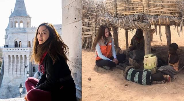 배우 홍수현이 화보같은 일상과 달리 온앤오프를 통해 소탈한 모습을 보여 눈길을 끌었다. /홍수현 SNS
