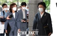 [TF사진관] 국회법 위반 혐의 재판 출석한 나경원-이은재