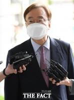 [TF포토] 재판 출석한 강효상 전 의원