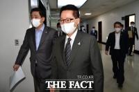[TF포토] 국회 찾은 박지원 국정원장