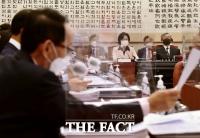 [TF포토] 김도읍 의원 질의듣는 추미애 장관