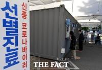 [TF사진관] 코로나19 이틀 연속 세 자릿수, 선별 진료소 찾은 시민들