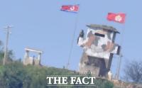 [TF포토] 공무원 피살, '경계 강화한 북한'