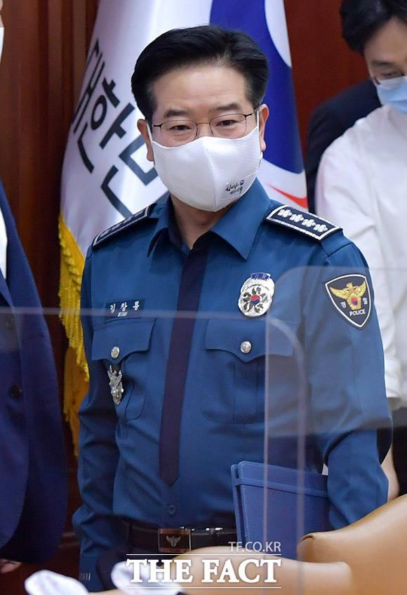 김창룡 경찰청장.