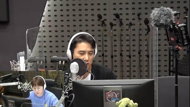 장민호가 조우종과 10년 전을 회상하며 깊은 인연을 공개했다. /KBS 쿨FM 조우종의 FM대행진 캡처
