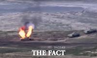 [TF사진관] 아르메니아-아제르바이잔 무력충돌, '전면전 우려'