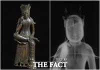 국립중앙박물관 특별전 '빛의 과학, 문화재의 비밀을 밝히다' 일반 공개