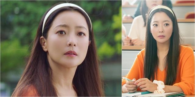 20대 윤태이가 등장하는 장면은 김희선의 변함 없는 미모로 화제를 모았다. /SBS 제공