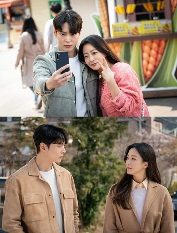주원(왼쪽)과 김희선은 남녀 주인공을 맡았다. /SBS 제공