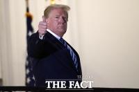 [TF사진관] 트럼프, '코로나 두려워 말라... 백악관 복귀'