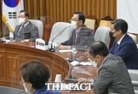 [TF사진관] 주호영, '북 피격' 사태에
