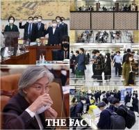 [TF사진관] '21대 국회 첫 국정감사 돌입' 분주한 국회