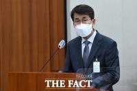 [TF포토] 국감 출석한 김동욱 현대차 전무