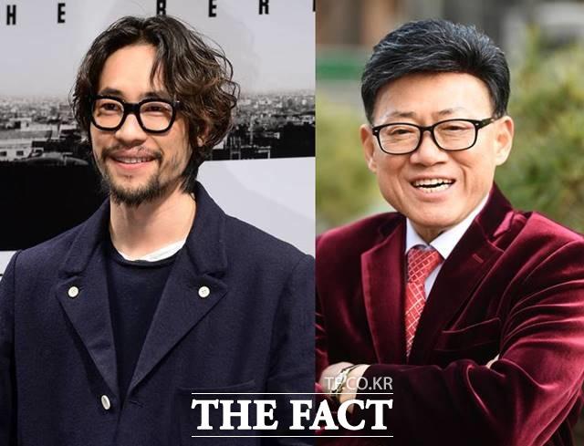 배우 류승범(왼쪽)과 엄용수는 10살 연하의 여자 친구와 결혼을 예고했다. /더팩트 DB