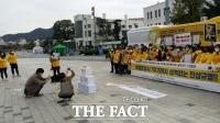 세월호참사 7주기 앞두고 4·16진실버스 광주 도착…시민들 뜨거운 호응