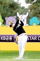 [TF포토] 김지영, 파워풀 티샷