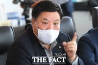 [TF포토] 이낙연 대표와 간담회 갖는 서정진 셀트리온 회장