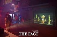 [TF포토] '미디어아트'로 꾸며진 철공소 골목