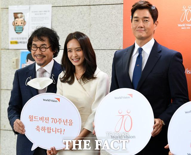 박상원과 박정아, 유지태(왼쪽부터)