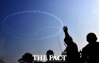[TF사진관] 전쟁영웅 기리기 위해 사전 연습비행하는 '블랙이글스'