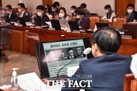 [TF사진관] '옵티머스-라임' 질의하는 전주혜-장제원